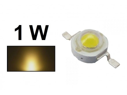 LED dioda 1W 3500-3700K High Power