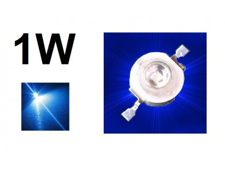 LED dioda 1W - High Power - Plava
