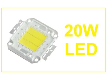 LED dioda 20W menja 200W - 2000Lm