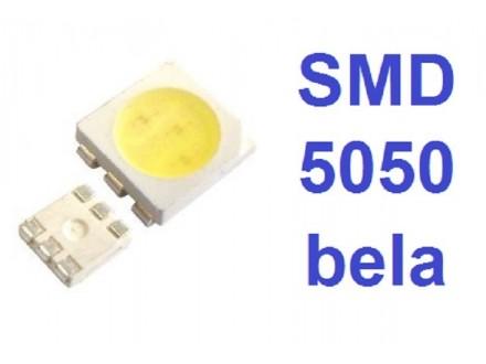 LED dioda 5050 - bela - SMD