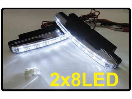 LED dnevna svetla - Day lights - Komplet!
