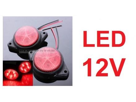 LED gabariti - 12V - CRVENI