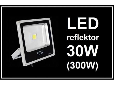 LED reflektor - 30W - (300W) - slim