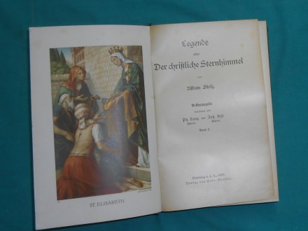 LEGENDE ODER DER CHRIFTLICHE STERNHIMMEL I.-II.A.STOLZ