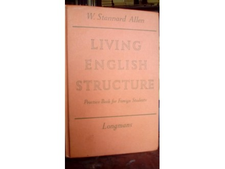LIVING ENGLISH STRUCTURE: PRACTICE BOOK