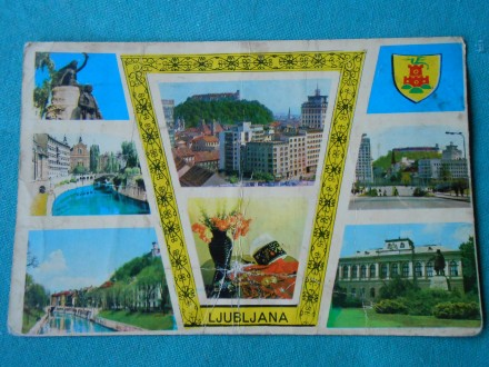 LJUBLJANA-KOLAŽ-1960/70.g.- /XXI-181/