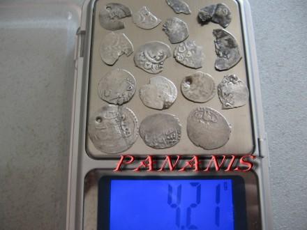 LOT TURSKE AKCE SREDNJI VEK SREBRO 4,21 gram