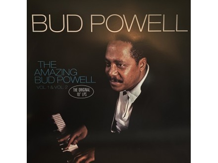 LP Bud Powell ‎– The Amazing Bud Powell, Vol.1 &; Vol.2
