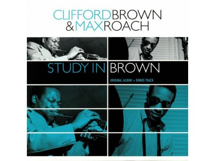 LP Clifford Brown and Max Roach – Study in Brown