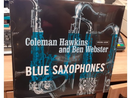 LP Coleman Hawkins, Ben Webster ‎– Blue Saxophones