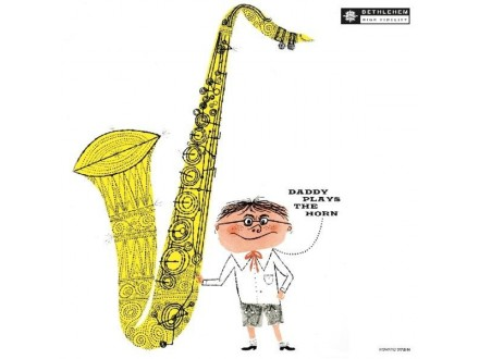 LP Dexter Gordon ‎– Daddy Plays The Horn