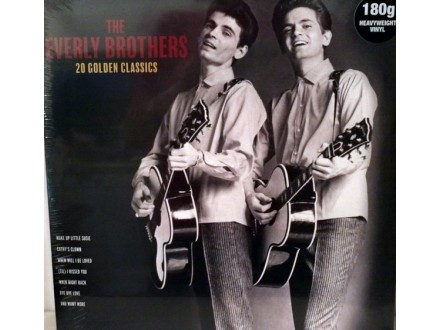 LP Everly Brothers – 20 Golden Classics