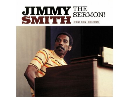 LP Jimmy Smith ‎– The Sermon!