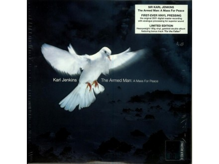 LP Karl Jenkins–The Armed Man: A Mass For Peace 2xLP