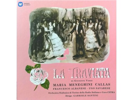 LP  Maria Meneghini Callas - La Traviata 3xLP