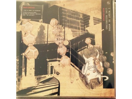 LP Radiohead – I Might Be Wrong - Live Recordings 2 LP