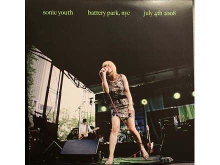 LP Sonic Youth – Battery Park, NYC July 4th 2008