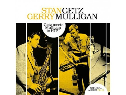 LP Stan Getz, Gerry Mulligan ‎– Getz Meets Mulligan In