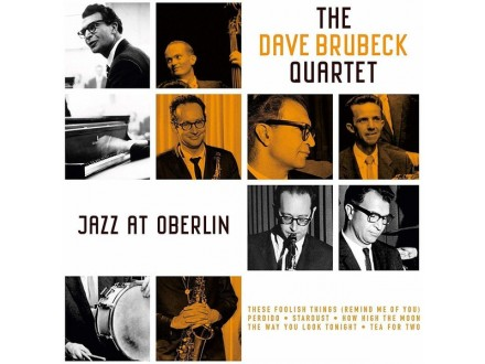 LP The Dave Brubeck Quartet ‎– Jazz At Oberlin