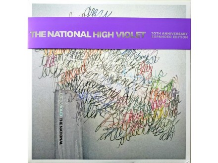 LP The National – High Violet (10th Anniversary) 3xLP