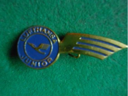 LUFTHANSA Airlines Wings Junior Badge