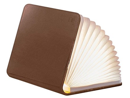 Lampa - Book, Brown Leather, L