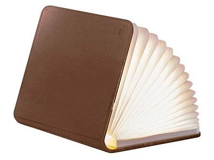 Lampa - Book, Brown Leather, S