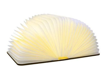 Lampa - Book Walnut, S