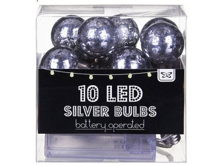 Lampica, Silver Bulb LED Spring
