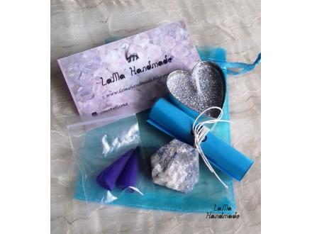 Lapis lazuli set za meditaciju