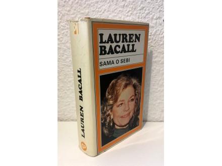 Lauren Bacall - Sama o sebi