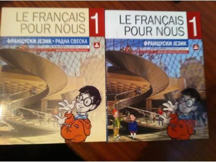 Le Francais pour nous 1 Francuski Točanac Milivojev