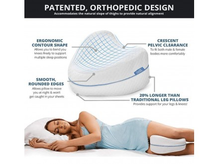 Leg Pillow - Jastuk Za Noge Od Memorijske Pene, Novo