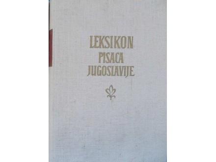 Leksikon pisaca Jugoslavije I - II - III