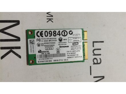 Lenovo IdeaPad S10e 4068 WiFi kartica
