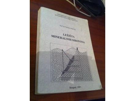 Ležišta mineralnih sirovina Čedomir Mudrinić