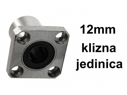Linearna klizna jedinica 12mm za CNC i 3D - LMK12UU
