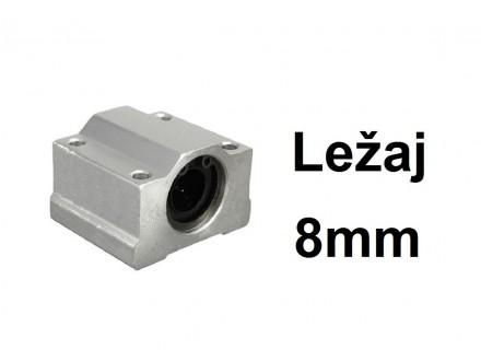 Linearni klizni lezaj sa kucistem 8mm CNC - SC8UU
