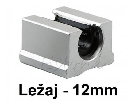 Linearni otvoreni klizni lezaj sa kucistem 12mm SBR12UU