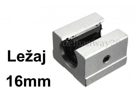 Linearni otvoreni klizni lezaj sa kucistem 16mm SBR16UU