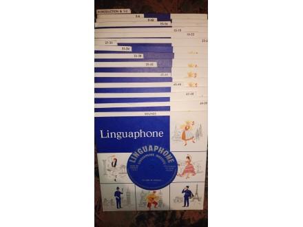 Linguaphone singlice Francuski Jezik +Prirucnici
