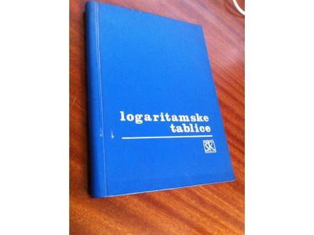 Logoritamske tablice po Schlomilchu i Majcenu
