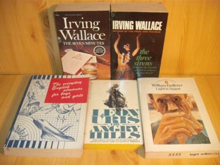 Lot knjiga na engleskom jeziku (1)