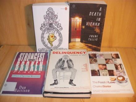 Lot knjiga na engleskom jeziku (8)