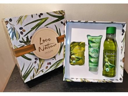 Love Nature Olive poklon set