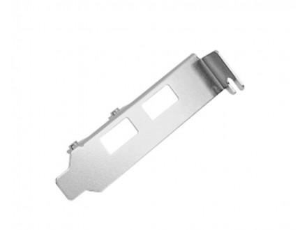 Low Profile Bracket za 2x USB port