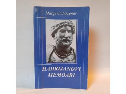 M. Jursenar - Hadrijanovi Memoari