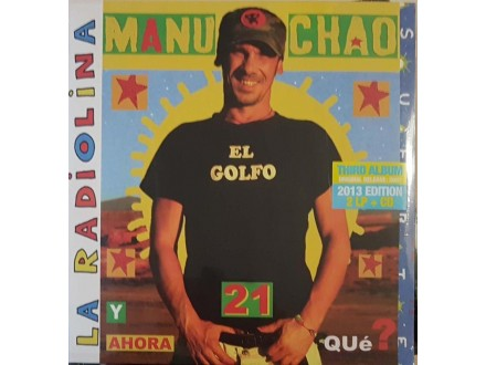 MANU CHAO - LA RADIOLINA - LP