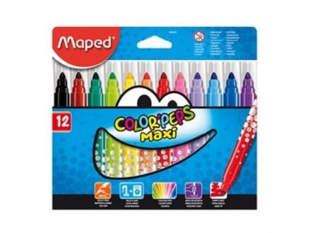 MAPED Flomasteri Maxi 1/12 846020