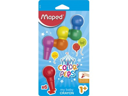 MAPED voštane Color Peps My Baby 1/6 863106
